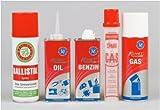 25er-SET Universalöl /-gas / - benzin Komet Spezialbenzin Dose 125 ml