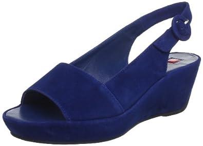 Högl shoe fashion GmbH 5-103612-31000, Damen Sandalen, Blau (navy 3100), EU 42 (UK 8)