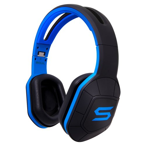 Soul Combat+ Headphones (Electric Blue)