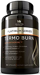 Thermogenic Fat Burner With Patent Pending Formula - The Best Potent Thermogenic Hyper-metabolizer For Extreme Weight Loss - 100 Natural And Unique Formula With Proven And Patented Ingredients - Burn Fat Protect Muscle Boost Energy And Increase Focus Inst