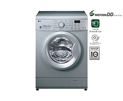 LG F10E3NDL25 Fully-automatic Front-loading Washing Machine (6 Kg, Luxury Silver)