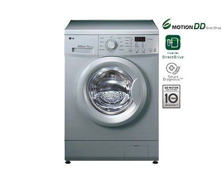 Amazon: LG F10E3NDL25 Fully-automatic Front-loading Washing Machine (6 Kg, Luxury Silver) @ Rs 25,055 (27% OFF)