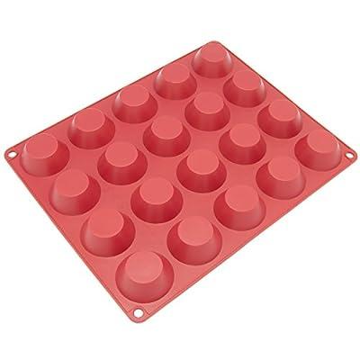 Freshware 20-Cavity Silicone Mini Tartlet Pan