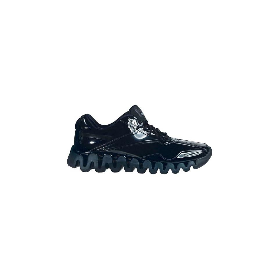 Reebok Mens Zigenergy Referee Shoes, Black (Black Patent