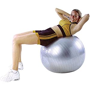 Cosco Gym Ball | 95cm (Silver)