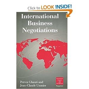 international business negotiation