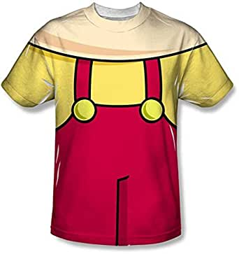 Stewie griffin family guy t shirt costume tv for Family guy t shirts amazon