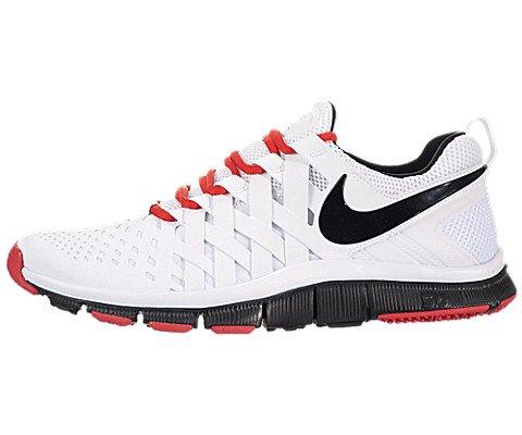276519579c9c Nike Men s Free Trainer 5 0 White Black Lt Crimson Training Shoe 10 Men US