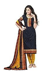 Shivani womens Cotton unstiched Salwar Suit Material(903_Multi-Colour)