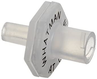Whatman 6809-1002 Anotop 10 Syringe Filter, 10mm, 0.02 Micron (Pack of 50)