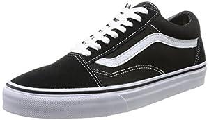 Vans U OLD SKOOL VD3HY28 Unisex-Erwachsene Sneakers, schwarz (black/white) EU 44.5 (US 11)