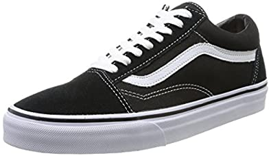 Vans U Old Skool Vd3Hy28, Baskets mode mixte adulte - Noir (Black), 34.5 EU