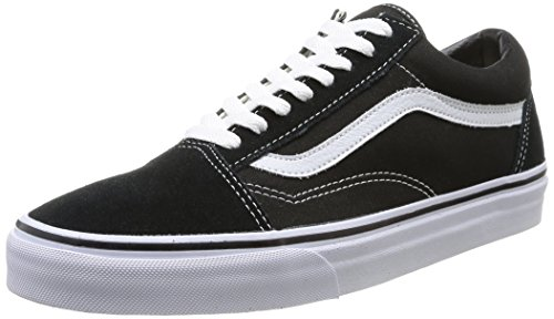 Vans Old Skool Negras Suela Marron