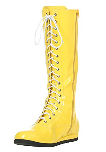 Yellow Wrestling Boots