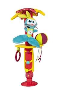 Babymoov - Juguete móvil con diseño de circo, ventosa para fijación a ventanillas o superficies lisas (6-24 meses), multicolor