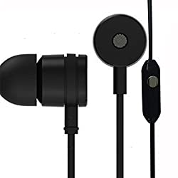 Spider Designs BINGO Premium Quality Earphone Handsfree superior Sound Quality with Super Bass - Black