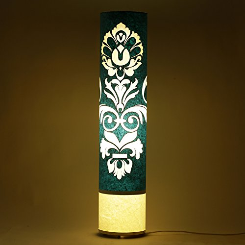 craftter-engineered-design-blue-and-white-35-inch-long-cylinderical-cylinderical-artistic-floor-lamp