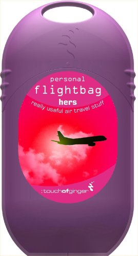 Touch Of Ginger Urban Survival Range Flight Bag Essentials Kit – Hers