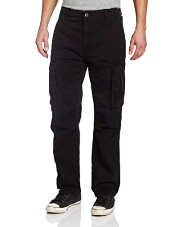 Levi's Men's Ace Cargo Twill Fabric Pant, Black, 29x30