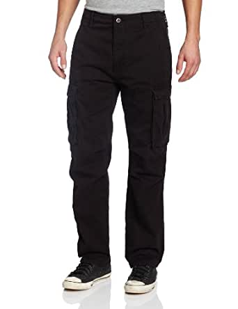 Levi's Men's Ace Cargo Twill Fabric Pant, Black, 42x32
