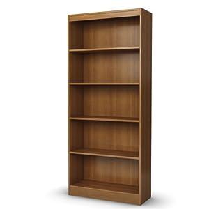 South Shore Axess Collection 5-Shelf Bookcase, Morgan Cherry