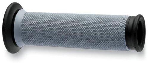 Renthal G176 Black/Gray 32 mm Full Diamond Soft/Firm Compound Sportbike Grip