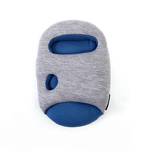 New design magical Mini Sleepy ostrich pillow office the nap pillow (Blue)