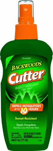 Cutter Backwoods Cutter Unscented 6 oz Insect Repellent Pump Spray 23% DEET HG-95842