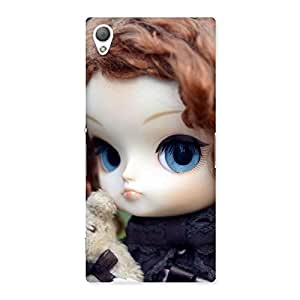 Hugging Teddy Doll Multicolor Back Case Cover for Sony Xperia Z3