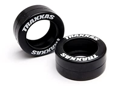 Traxxas 5185 Rubber Tires for Wheelie Bar Wheels, 2-Piece