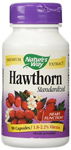 Hawthorn Standardized Extract - Nature's Way - 90 - Capsule
