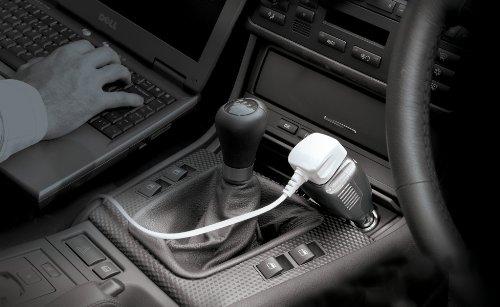 Ring Automotive MP75 Travel Inverter - 12v DC - 240v AC, 75w, Single Socket