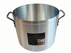 Alegacy Eagleware EW40 Professional Aluminum Stock Pot, 40-Quart