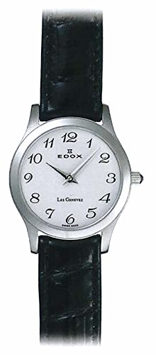 Edox Les Genevez Two Hands relojes mujer 21155-3-BB