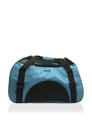 Pet Life Airline Approved Altitude Force Sporty Pet Carrier Blue