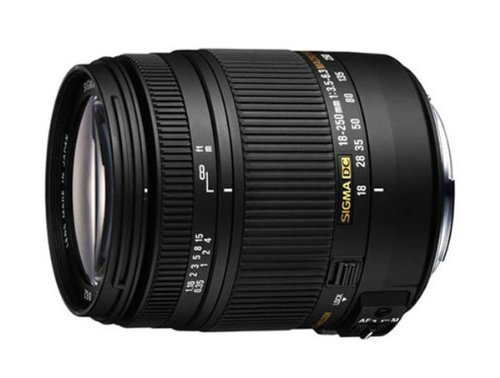 Sigma 18-250mm F3.5-6.3 DC HSM Optical Stabilised Lens for Sony Digital SLR Cameras Black Friday & Cyber Monday 2014