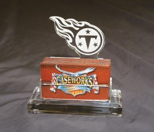 NFL Tennessee Titans Business Card Holder in Gift Box by Caseworks