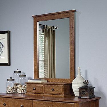 White Bedroom Vanity With Mirror front-61540