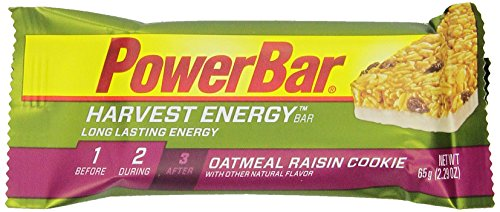Powerbar Harvest Energy Bars, Oatmeal Raisin Cookie, 2.29-Ounce Bars (Pack Of 15) front-21219