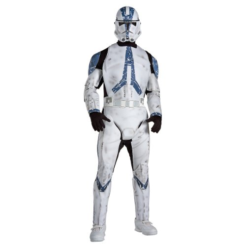 Deluxe Clone Trooper Costume - X-Large - Chest Size 44-46