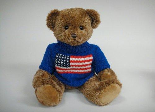 Cuddly Sam Patriotic Bear 17