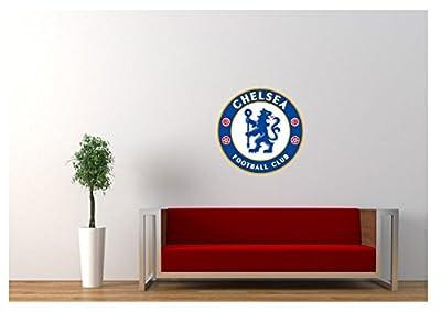 "Large Chelsea Fc Wall Sticker Logo 18""x18"""
