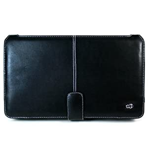 Kroo Black Melrose Notebook case for HP Mini Notebook  2140