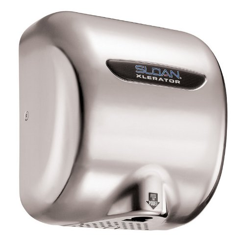 Sloan Ehd-502 Xlerator Model Ultra-Fast, Sensor Activated Hand Dryer For Surface, Chrome