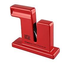 Messermeister Chantry Sharpener-scarlet Red