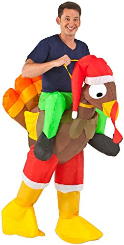 Buy Seasons - Inflatable Rider - Turkey Adult Costume
