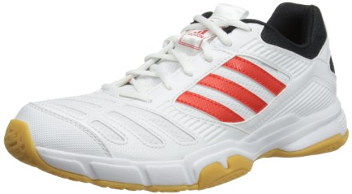 Adidas Men's BT Boom Low Tops (White / Red / Black),10.5 UK