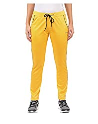 Yepme Women's Yellow Polyester Trackpants - YPWTPANT5051_L