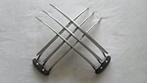 X MAN Wolverine Claws High Quality of Refinement Cosplay Props Video Display