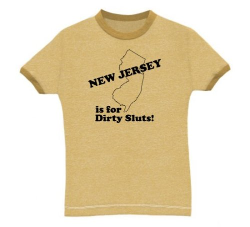 New Jersey - Dirty Sluts - Buy New Jersey - Dirty Sluts - Purchase New Jersey - Dirty Sluts (Direct Source, Direct Source Shirts, Direct Source Womens Shirts, Apparel, Departments, Women, Shirts, T-Shirts)